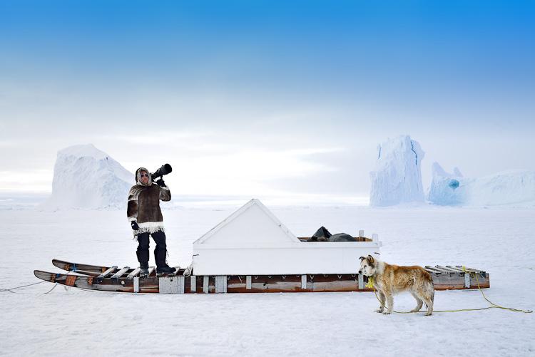 David De Vleeschauwer in Nunavut Canada