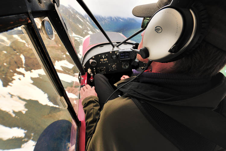 Flying with Loni, Ultima Thule Lodge Alaska